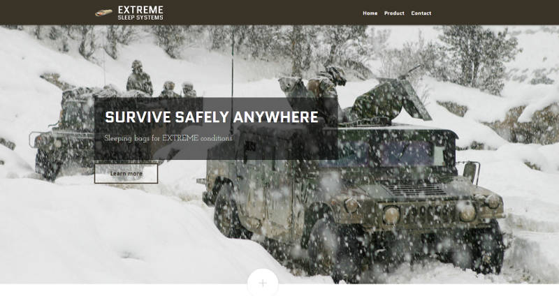 <p>Extreme Sleep Systems, by SDMA, was built on a tight time schedule. The site is responsive and full-width.</p>
